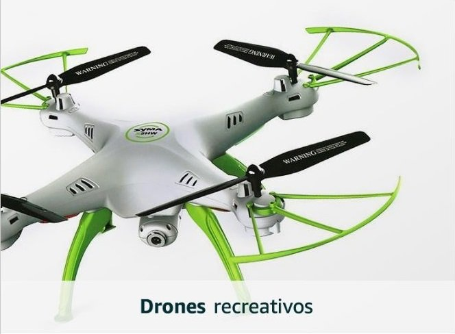 Drones recreativos