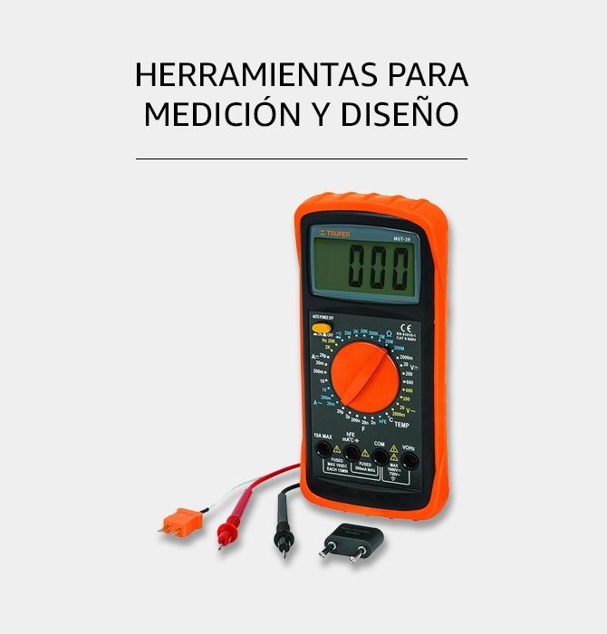 Herramientas para medición y diseño