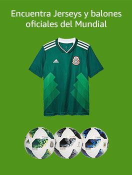 Jerseys y balones oficiales del Mundial