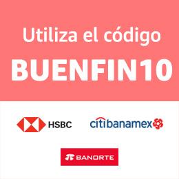Aplica en compras mínimas de $1500 con bancos participantes