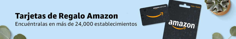 Tarjetas de Regalo Amazon | Encuentrala en mas de 20,000 estableciemientos
