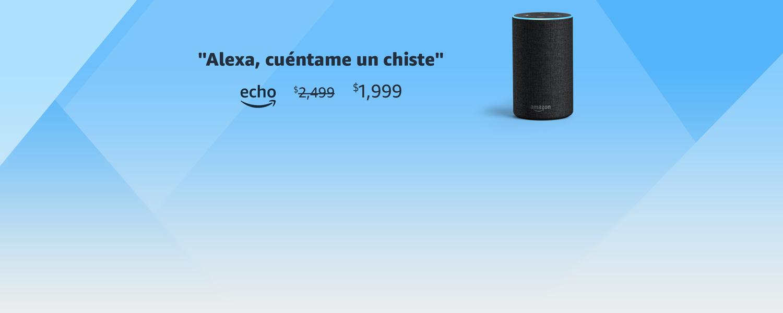 Alexa, cuéntame un chiste | echo | $1,999