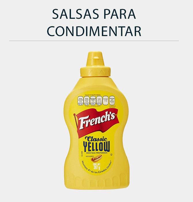 Salsas para condimentar