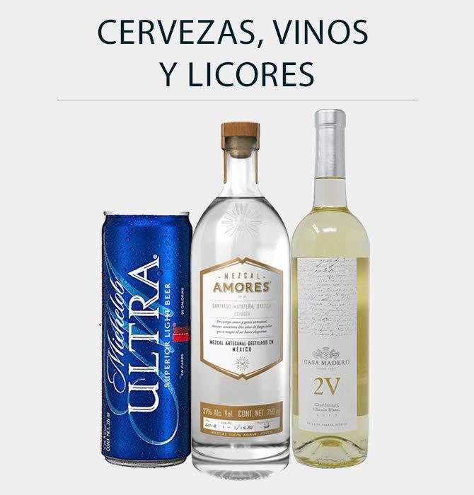 Cervezas, Vinos y Licores