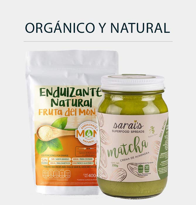 Orgánico y Natural