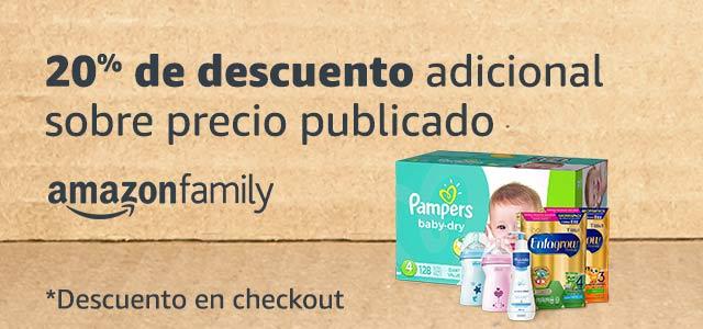 10% de descuento adicional cortesía de amazon family