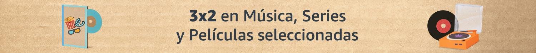 3x2 en Música, Series y Películas