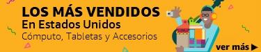 Los más vendidos en Estados Unidos: Cómputo, Tabletas y Accesorios