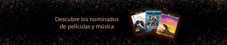 Descubre los nominados de películas y música