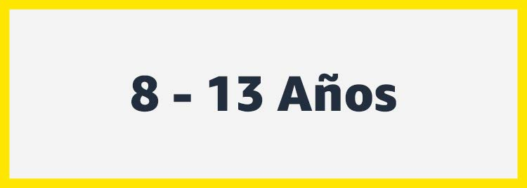 8 a 13