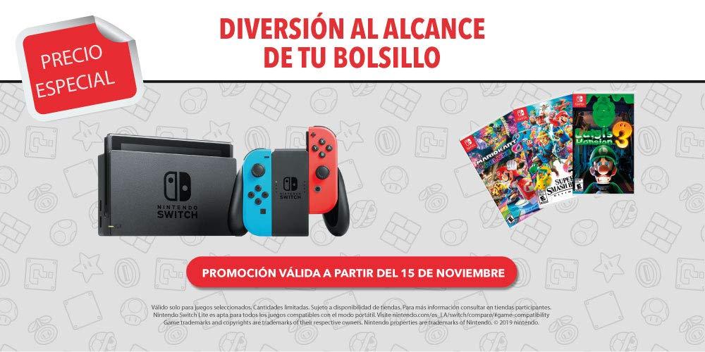 Descuentos en Nintendo