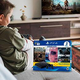Bundle Hits de PlayStation. Diviértete con la consola PlayStation 4 con tu familia y amigos