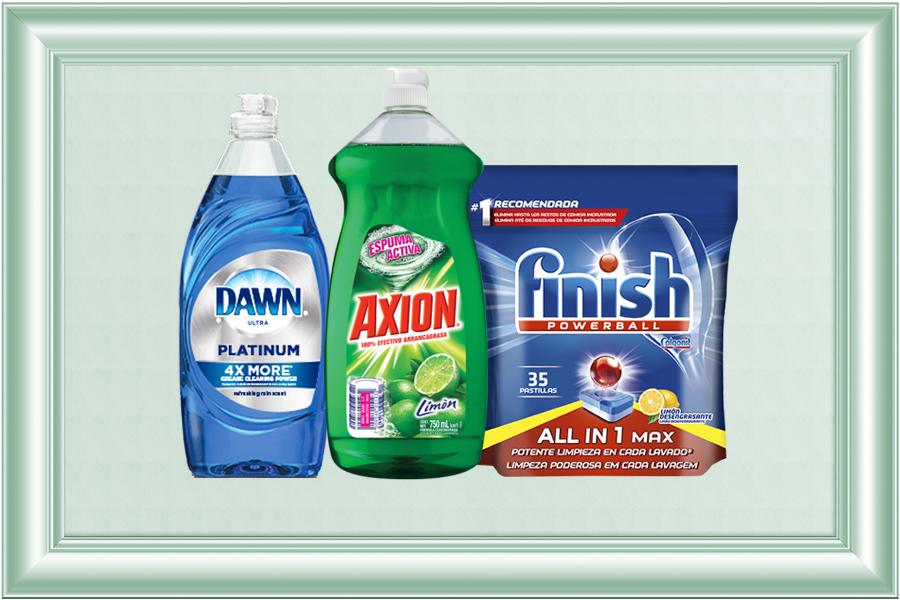 Lavatrastes y lavavajillas
