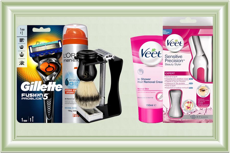 Rasurado y depilación