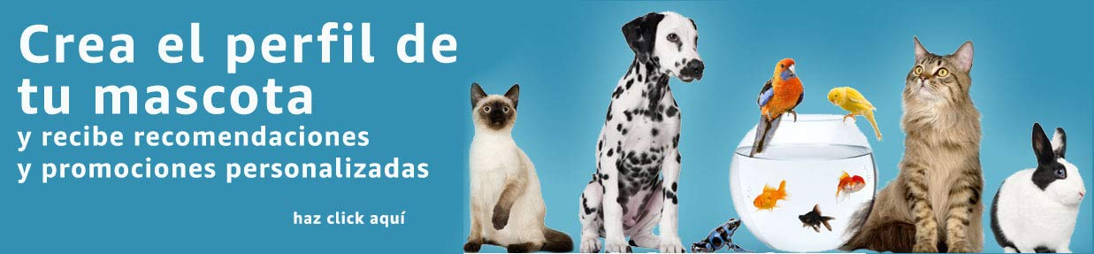 Crea el perfil de tu mascota y recibe beneficios.