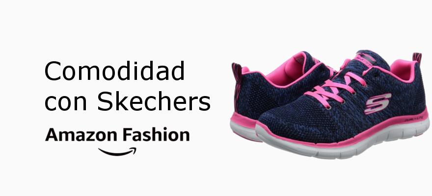 Comodidad con Skechers