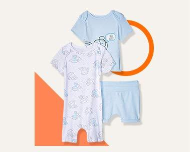 Hasta 50% en ropa para bebé