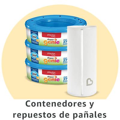 contenedores y bolsas para pañales