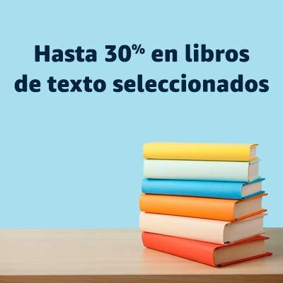 Hasta 30% en libros de texto seleccionados