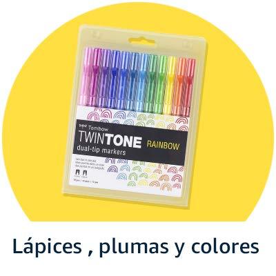 Lápices, plumas y colores