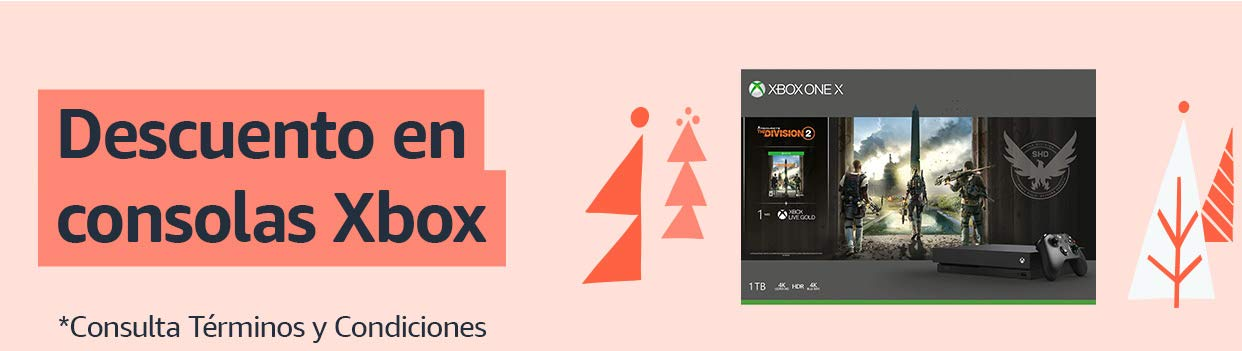 Descuento en Consolas Xbox One X