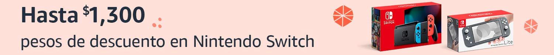 Descuento en Nintendo Switch
