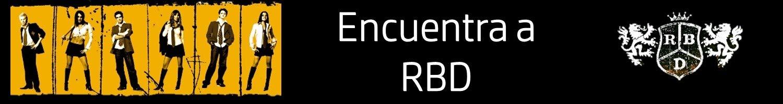 Encuentra a RBD