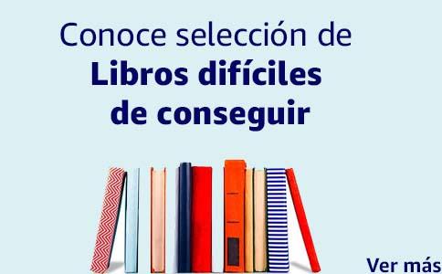 Conoce selección de libros difíciles de conseguir