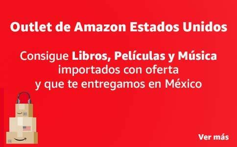 Outlet de libros, películas y música de Amazon Estados Unidos