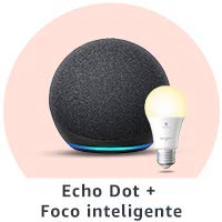 Echo Dot + Foco inteligente