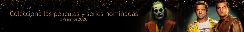 Colecciona las películas y series nominadas #Premios2020