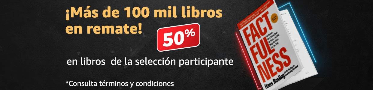 Remate en libros: 50% en selección participante