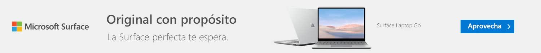 Conoce la Surface Laptop Go