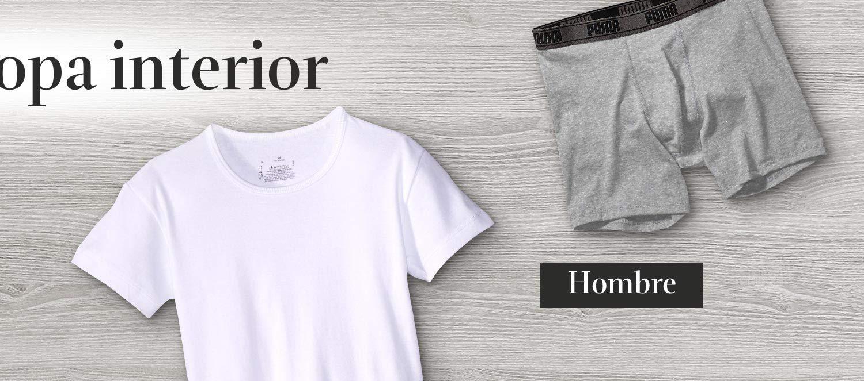 Tienda ropa interior hombre