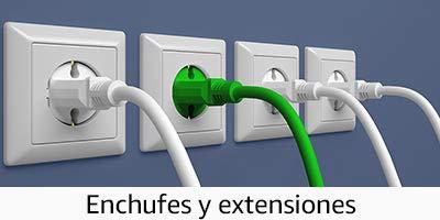 Enchufes y Extensiones