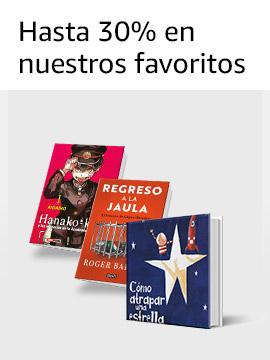 Hasta 30% en nuestros  libros favoritos