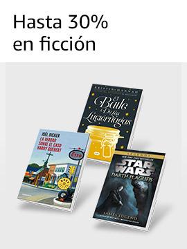 Hasta 30% en ficción
