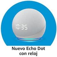 Echo Dot con reloj