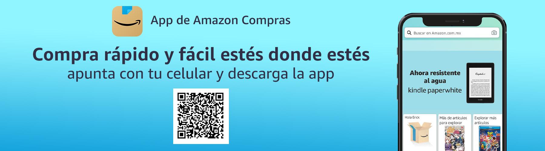 Conoce beneficios de App de Amazon Compras