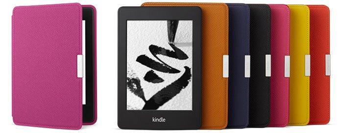 Colores de las fundas para Kindle Paperwhite