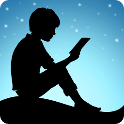 Imagen del logotipo de la app de Kindle