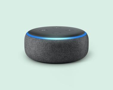 Pon música con Echo Dot y Alexa. Echo Dot