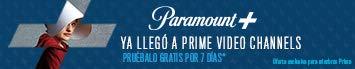 Suscríbete a Paramount en PrimeVideo.com