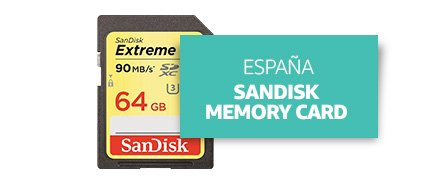[Country] España [Product] SanDisk Memory Card