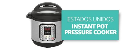 [Country] Estados Unidos [Product] Instant Pot Pressure Cooker