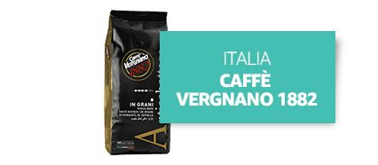 [Country] Italia [Product] Caffè Vergnano 1882