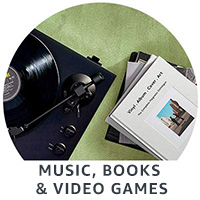 Music, Books & Video Games