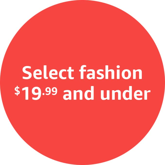 Select fashion $19.99 and under