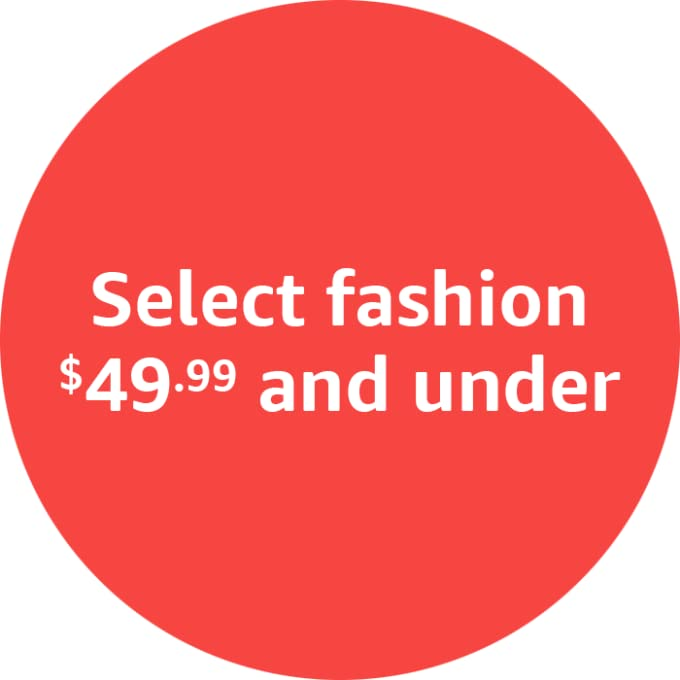 Select fashion $49.99 and under