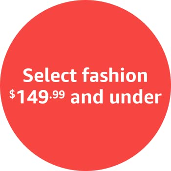 Select fashion $149.99 and under